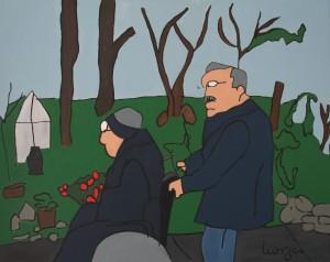 """schilderij """"Vrienden voor Altijd"""""""