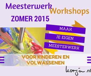 Meesterwerk Workshops