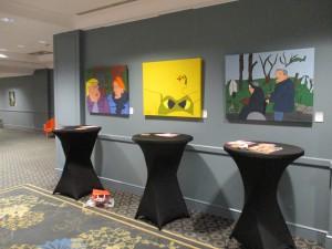 Expositie Korja Malmo Scandic Hotel